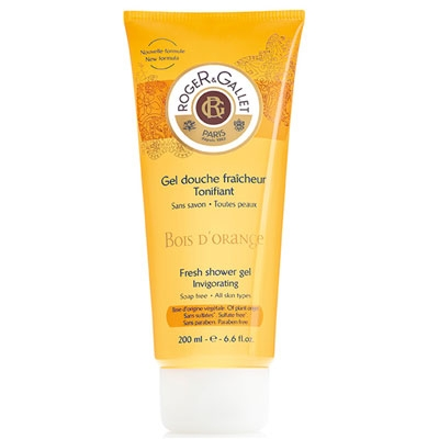 Gel de Ducha Fresco Tonificante Bois D'Orange