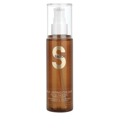 S Factor True Lasting Colour Hair Oil (Aceite Cabello Encrespado/Rebelde)