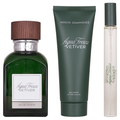 Set Vetiver 120ml + After Shave 75ml + 20ml
