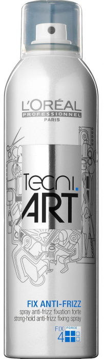 Tecni Art Fix Anti-Frizz Force 4 (Laca Fijación Fuerte Anti-Encrespamiento)