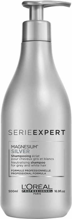 Silver Gloss Protect System Shampoo (Cabello Blanco/Gris)
