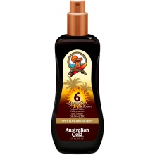Spray Gel Sunscreen With Instant Bronzer SPF6