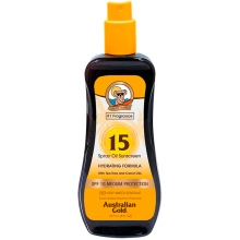 Spray Oil Sunscreen SPF15
