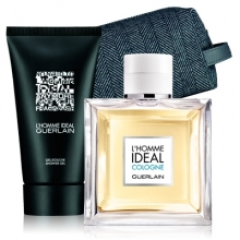Set L'Homme Ideal Cologne 100ml + Shower Gel 75ml + Neceser