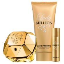 Set Lady Million 80ml + Body Lotion 100ml + 10ml