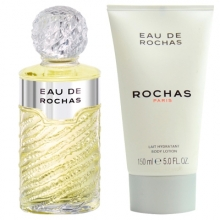 Set Eau de Rochas 100ml + Body Lotion 150ml