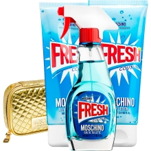 Set Fresh Couture 100ml + Gel 100ml + Body Lotion 100ml + Neceser
