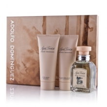 Set Agua Fresca 120ml + Aftershave Emulsión 100ml + Gel 100ml