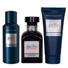 Set Agua Fresca Extreme 120ml + Aftershave 100ml + Deodorant 150ml