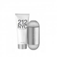 Set C.Herrera 212 NYC New Yorck PD Edt 100ml + B.Lotion Hydrating 100ml