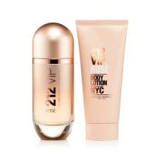 Set 212 Vip Rosé 80ml + Body Lotion 100ml