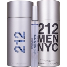 Set 212 Men 100ml + Deodorant 150ml + 10ml