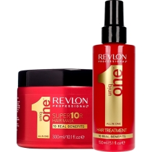 Set Uniq One All In One Hair Treatment 150ml + Mask 300ml