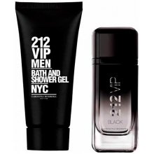 Set 212 Vip Black 100ml + Gel 100ml