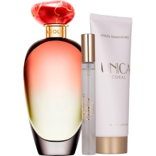 Set Unica Coral 100ml + Body Lotion 75ml + 10ml