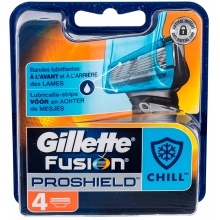 Gillette Fusion Proshield Chill - 4 recargas