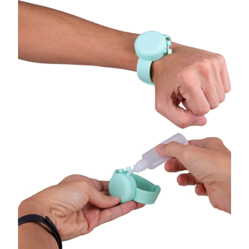 Pulseras Dispensadoras de Gel