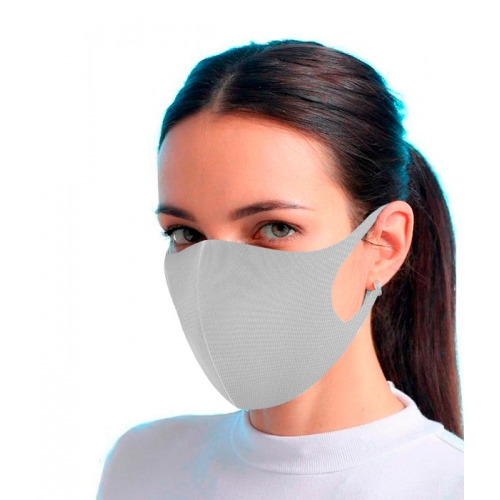 Mascarilla Reutilizable Gris Fashion Mask