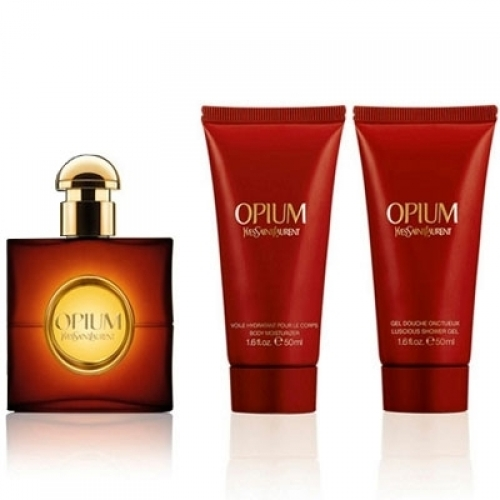Set YSL Opium 50ml + Body Lotion 50ml + Shower Gel 50ml