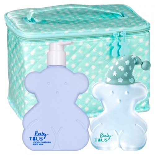 Set Baby Tous 100ml + Body Milk 250ml + Neceser