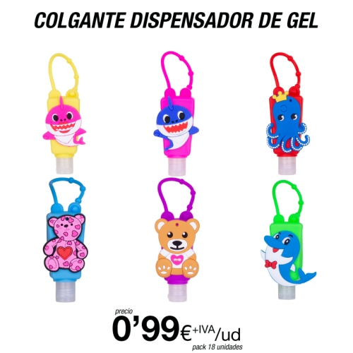 Dispensador de Gel Recargable